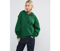 Luxuriöser Kapuzenpullover Grün