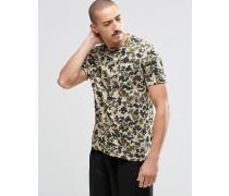 C75 T-Shirt mit Tarnmuster, 10001117-A01 Grün