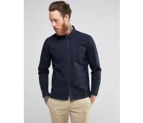 Levi's Line 8 Jeanshemd in Tintenblau mit einer Tasche Marineblau