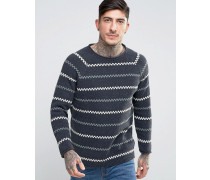 Co Vladimir Fisherman-Pullover Schwarz