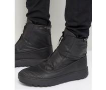 Fusion Duck Stiefel mit Reißverschluss Schwarz