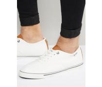 Teni Weißes Oxford-Schuhe Weiß