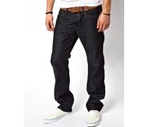 Waykee 88Z Gerade geschnittene Jeans Blau