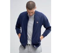 Fila Vintage-Sweatshirt mit Stehkragen Marineblau