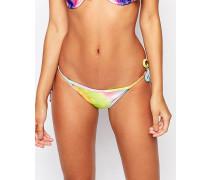 Mermaid Seitlich geschnürte Bikinihose Mehrfarbig