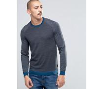 Pullover aus 100% Merinowolle Grau