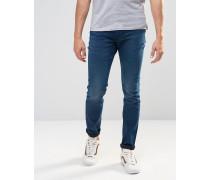 Levi's 510 Red Fern Enge Jeans in Tintenblau Blau