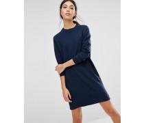 Levi's Line 8 Sweatshirt-Kleid Blau