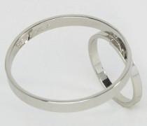 Frame Ring Silber