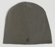 Daber Jersey-Mütze Grau