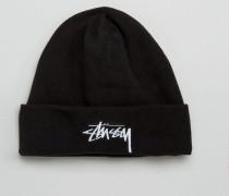 Mütze aus Polarfleece Schwarz