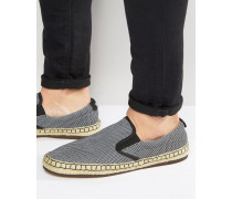By Hugo Boss Anthem Espadrilles Marineblau