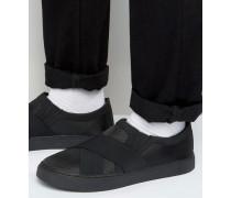 Skyline Sneaker zum Hineinschlüpfen Schwarz