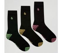 Socken im 3er Pack Schwarz