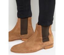 Dexter Chelsea-Stiefel aus Wildleder Bronze