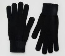 Leth Handschuhe Schwarz