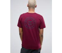 Oath T-Shirt mit rückseitigem Motiv Rot