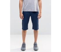Voi Chino-Shorts aus Denim Marineblau