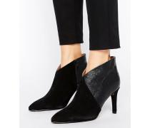 Femme Alexandria Stiefel mit hohem Absätzen Schwarz