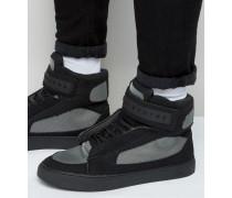 Bronx 2 Knöchelhohe Sneaker Schwarz