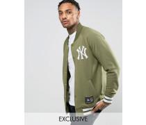 Yankees Letterman-Jacke aus Fleece, nur bei ASOS Grün
