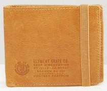 Endure Geldbörse aus Leder Bronze