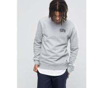 Arch Sweatshirt mit Logo Grau