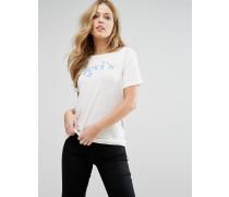 Levi's Das perfekte T-Shirt mit Retro-Logo Weiß