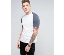 Brooklyn Supply Co Raglan-T-Shirt Blau