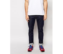 Levi's 522 Big Bend Raw Stretch-Karottenjeans in schmaler Passform Blau