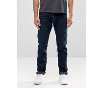 901 Zulaufende Stretch-Jeans in dunkler Indigo-Waschung Limited Edition Blau