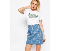 Prickly Bitch T-Shirt Weiß