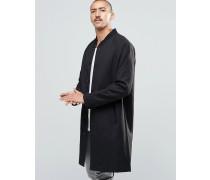 Tide Lang geschnittener Mantel in Schwarz Schwarz