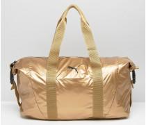 Reisetasche in Gold Gold