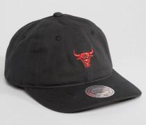Chukker Chicago Bulls Verstellbare Kappe Schwarz