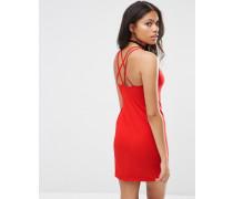 Silka Kleid mit Rückenträgern Rot