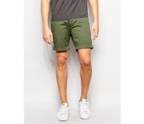 Chino-Shorts Grün