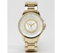 Goldene Armbanduhr, AX4321 Gold