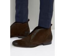 Trader Chukka-Stiefel aus Wildleder Braun