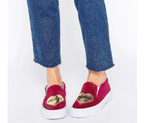 DELORES Heart Breaker Sneaker Rosa