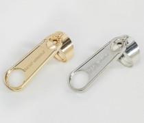 Ringe mit Reißverschlussdesign Mehrfarbig