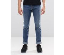 Friday Skinny-Jeans in klassischem Blau Blau