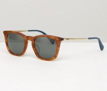 Max Quadratische Sonnenbrille Braun