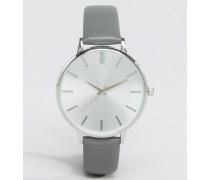 Graue Armbanduhr Grau
