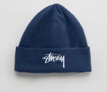 Mütze aus Polarfleece Marineblau