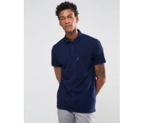 Levi's Pikee-Polohemd in Indigoblau Blau