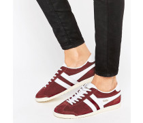 Classic Bullet Trainers In Burgundy & White Rot