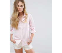 Klassisches Preppy-Hemd Rosa