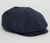 Baker Boy Strukturierte Kappe Blau