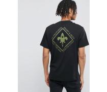 T-Shirt mit Wealth-Logo Schwarz